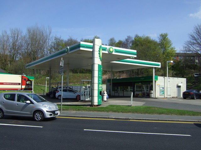 Service station on Durham Road