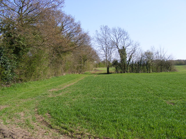 Field entrance off the entrance to South Manor Farm