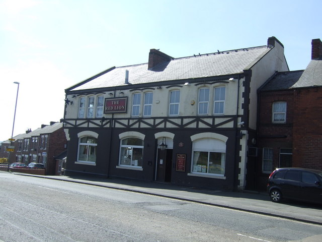 The Red Lion pub, Durham Road (A167), Birtley