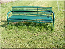 TM3876 : Seat at Basley Park by Adrian Cable