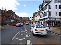 NY4055 : English Street, Carlisle by Kenneth  Allen