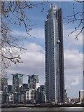 TQ2977 : St George's Wharf Tower by Robin Sones