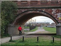 SK5838 : Through Lady Bay Bridge by John Sutton