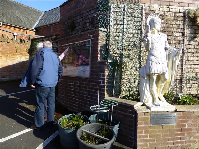 Hadrian's sculpture, Carlisle
