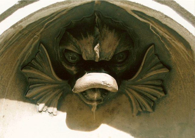 Sir James Duke's Drinking Fountain - detail
