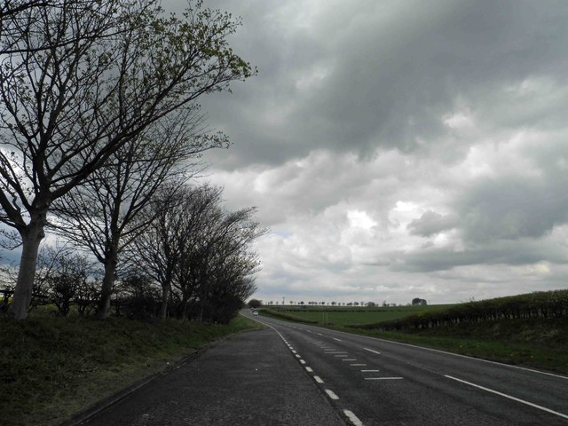 Lincolnshire Wolds lay-by on the A16