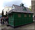 TQ2682 : Cabman's shelter, Warwick Avenue by Julian Osley