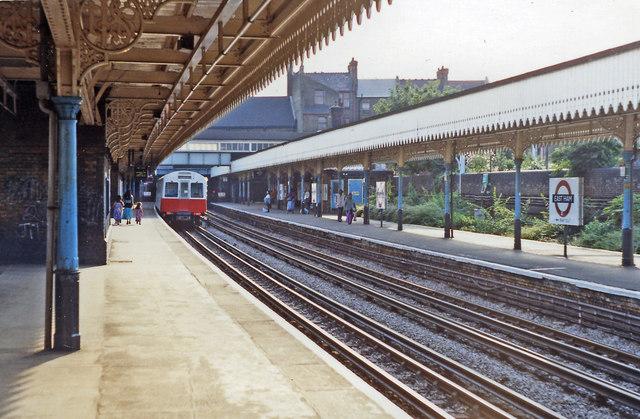 East Ham station, 1991