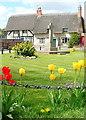 SU6396 : Chalgrove village green by Graham Horn