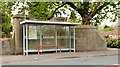 J3784 : Bus stop and shelter, Greenisland (2013-1) by Albert Bridge