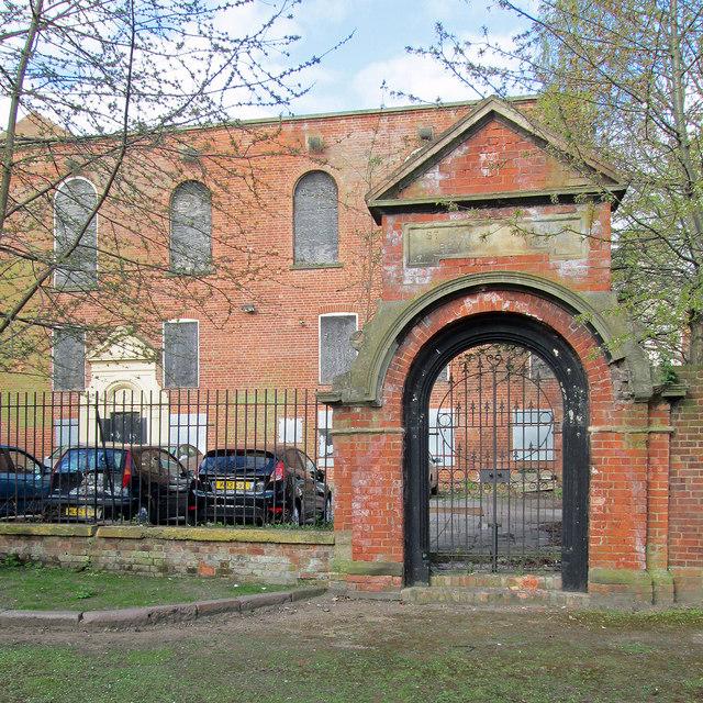 St Mary's School: boys' entrance
