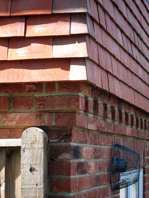 Brick Dentil Course Detail 169 Oast House Archive