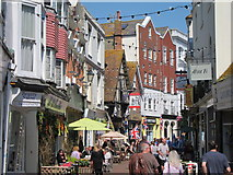 TQ8209 : George Street, Hastings by Oast House Archive
