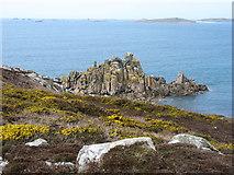 SV8808 : Kittern Rock, Gugh by David Purchase