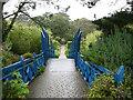 SV8914 : Entering Tresco Abbey Gardens by David Purchase