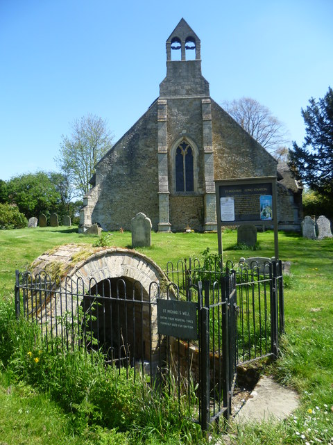 St Michael's Well and St Michael's Church, Longstanton