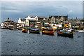SC2484 : Longboats in Peel Harbour by David Dixon