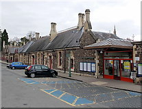 SO7845 : Main entrance to Great Malvern railway station by Jaggery