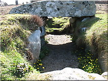 SV9212 : Innisidgen Carn Lower Burial Chamber by David Purchase