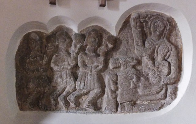 Relief of the Adoration of the Magi