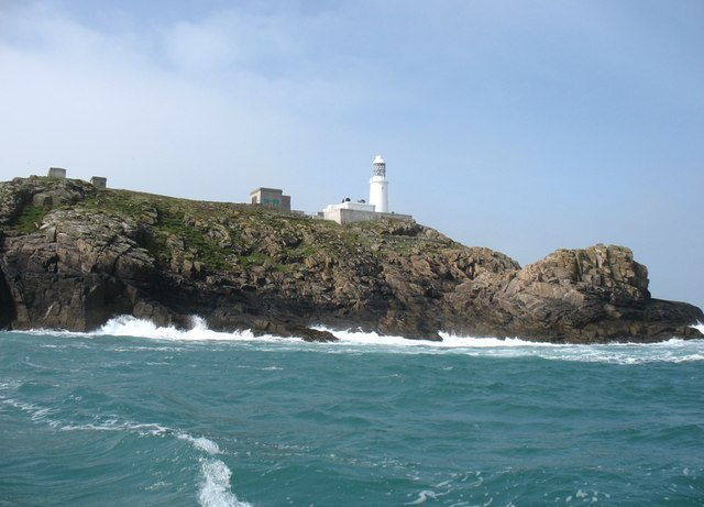 Round Island and lighthouse
