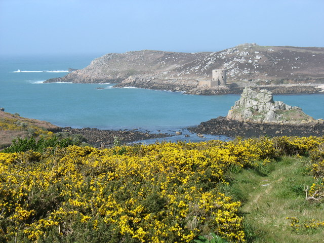 Hangman Island from Watch Hill, Bryher