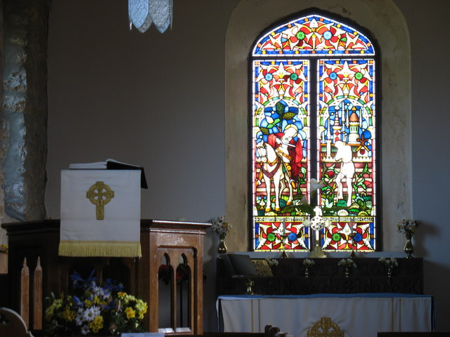 The East Window of St Martin's church