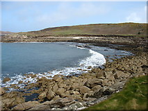 SV9116 : Porth Seal and Pernagie Point by David Purchase