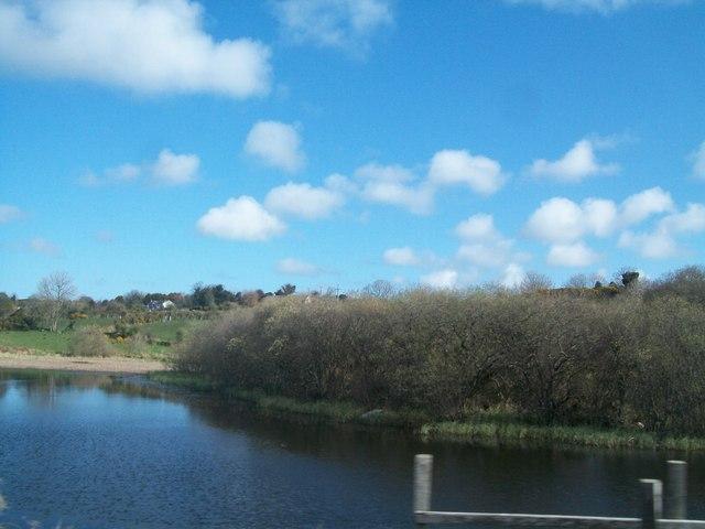 Lagoon at the northern of Camlough Lake