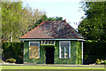 SK4833 : Old bowls pavilion by David Lally