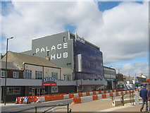 NZ6025 : Palace Hub on Redcar seafront by peter robinson