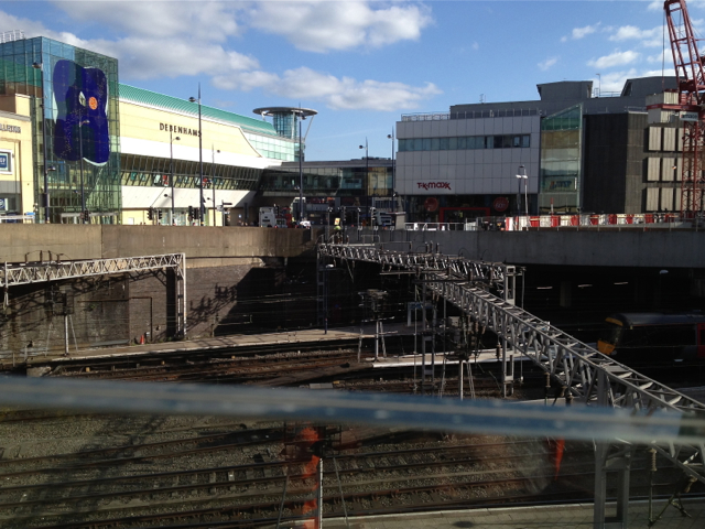 A new view of New Street station