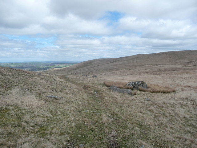 Path in the Preseli Hills