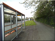 SO9394 : New Road Bus Stop by Gordon Griffiths
