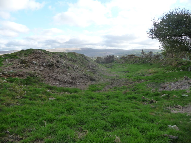 Part of Castell Mawr