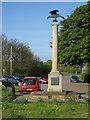 TL1690 : Norman Cross Memorial by Pauline E