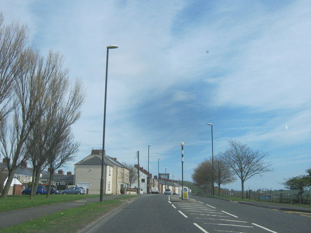 Chester Road (A183) in Penshaw