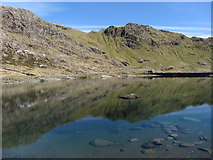SH6354 : Reflections on Llyn Llydaw by Gareth James