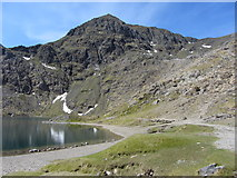 SH6154 : Glaslyn and Snowdon by Gareth James