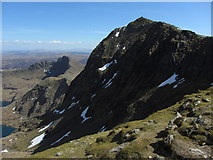 SH6054 : Snowdon and Y Lliwedd by Gareth James