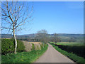 NU0424 : Country road towards Chillingham by Graham Robson