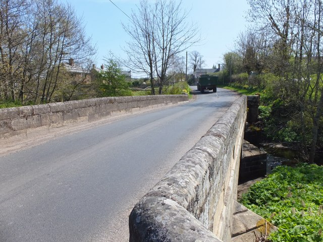 Bridge over the Aln, Whittingham