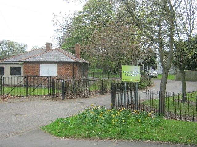 Entrance to the Secret Garden at Doxford Park