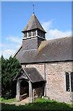 SO4313 : Llanvihangel-Ystern-Llewern church by Philip Halling