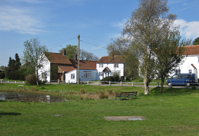 Edgefield, the village green