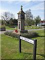 TG0934 : War memorial, Edgefield by Pauline E