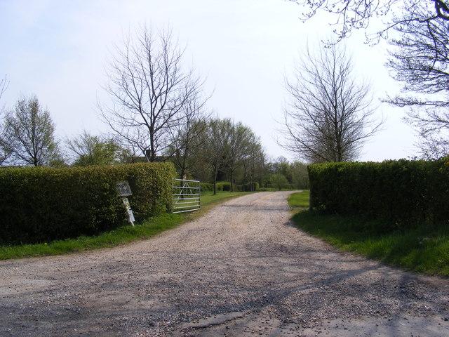 Entrance to Moat Farm