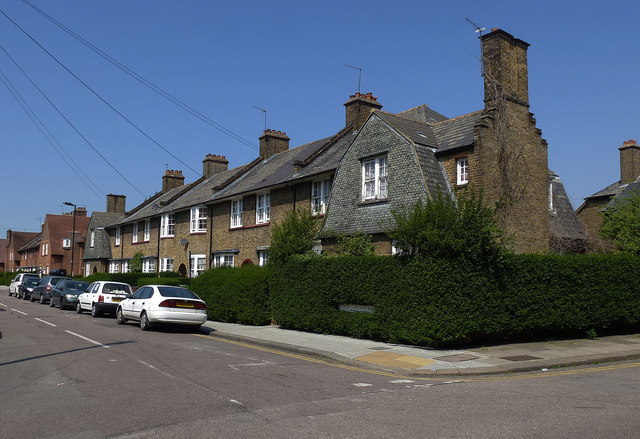 Terraced houses, Tower Gardens Estate