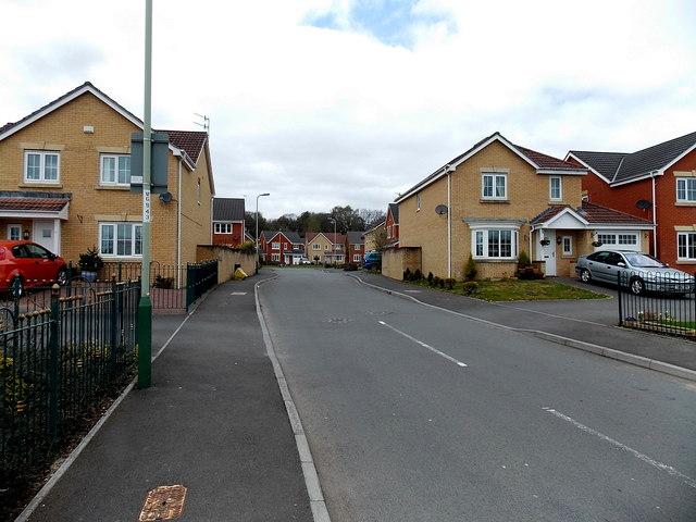 Pwll-yr-allt houses, Glan-y-nant by Jaggery