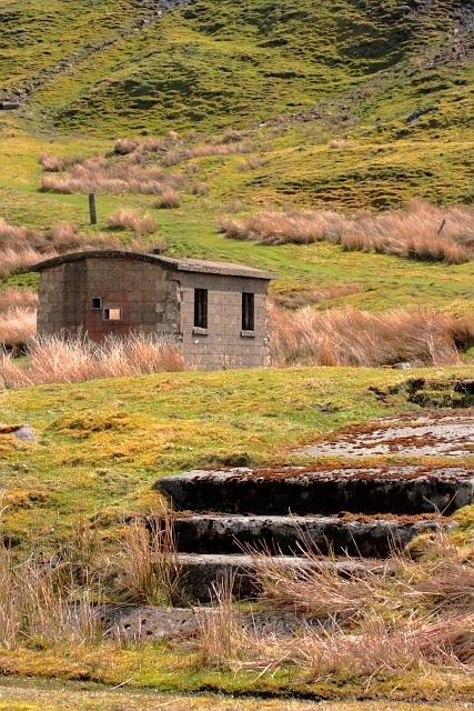 Ruin, Scar House Reservoir